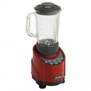 Omega Blender with touchpad controls 1.5lt glass container 1HP Red